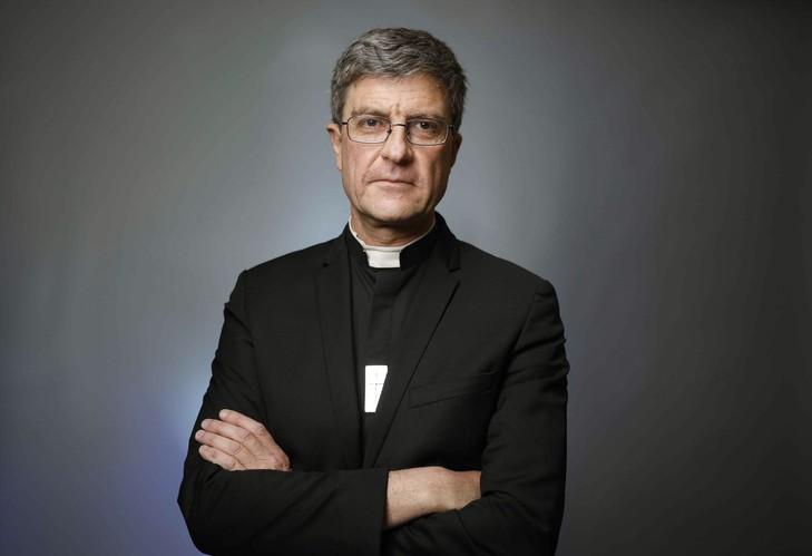 5 novembre 2018 : Mgr Eric DE MOULINS BEAUFORT, évêque de Reims. France.